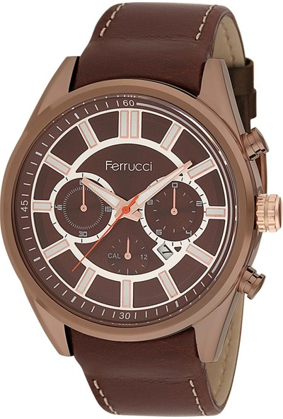 Ferrucci 8FK990 Erkek Takvimli Kol Saati