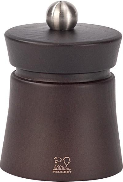 Peugeot Baya Karabiber Değirmeni 8 cm Çikolata Ahşap