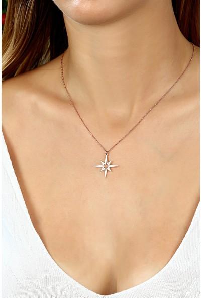 Azuris 925 Ayar Gümüş Kuzey Yıldızı