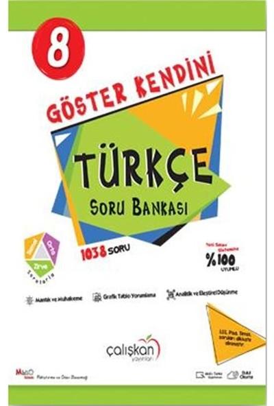 Çalışkan Yayınları 8. Sınıf Göster Kendini Türkçe Soru Bankası