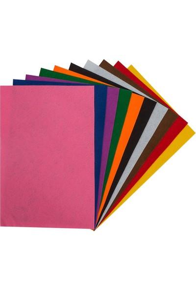 Kraf Kids Keçe 20 x 30 cm Karışık 10 Renk