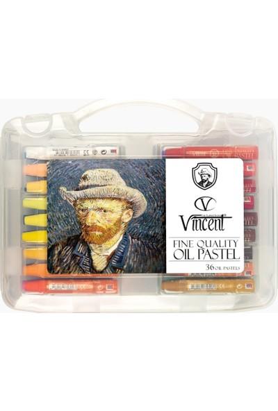 Vincent Oil Pastel Boya 36 Renk