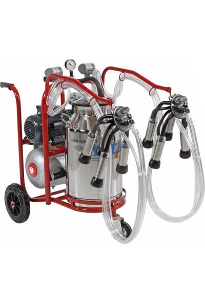 Sezer Pls 2/1 Koyun Süt Sağım Makinası Paslanmaz Güğüm 152005101