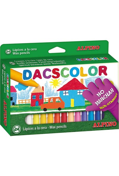 Alpino Dacscolor Mum Boya 24 Renk