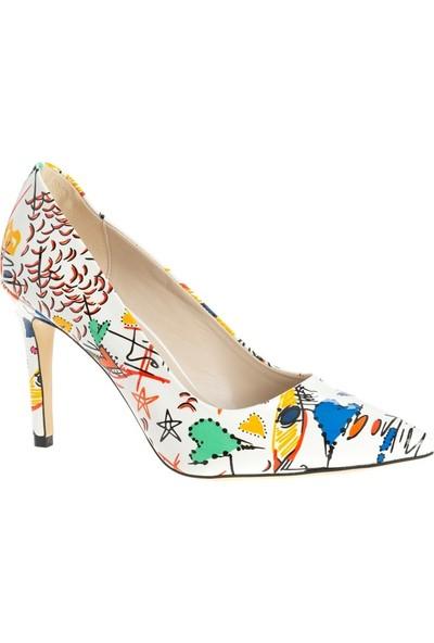 Marcamiss 7552R Kadın Topuklu Ayakkabi