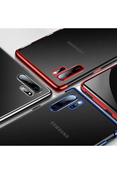 Microsonic Samsung Galaxy Note 10 Plus Kılıf Skyfall Transparent Clear Kırmızı