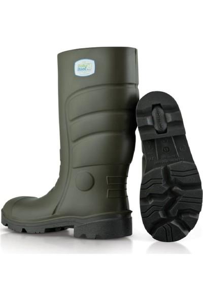 Polly Boot G501 Haki Poliüretan