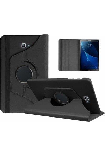 """Redpoloshop Samsung Galaxy Tab 4 10.1"""" T530 T532 Kılıf 360 Dönerli Standlı"""