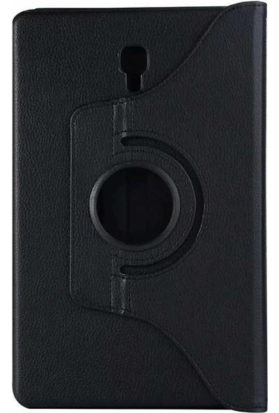 """Redpoloshop Samsung Galaxy Tab A 10.1"""" T580 T587 Kılıf 360 Dönerli Siyah"""
