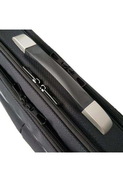 """Redpoloshop Sert Kasalı Notebook Evrak Çantası Kilitli Omuz Askılı 15.6"""""""