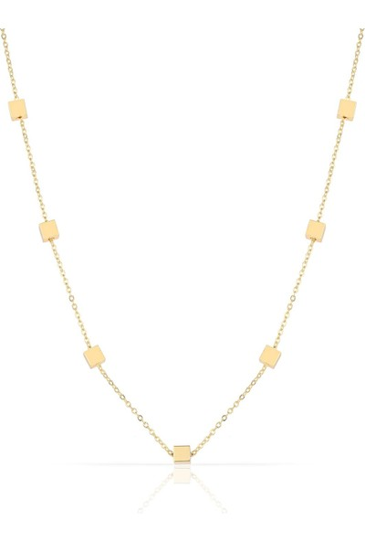 Herisson Altın Kolye DKL2087