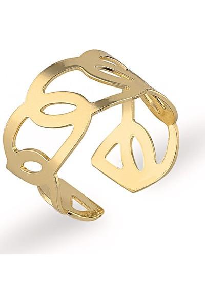 Herisson Altın Eklem Yüzüğü DYZ1007