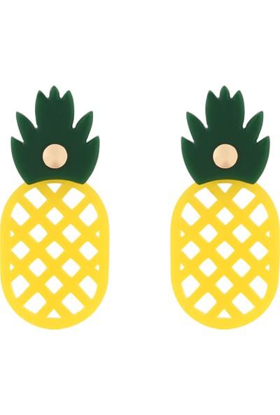 Cocco Ananas Küpe CC10196-01
