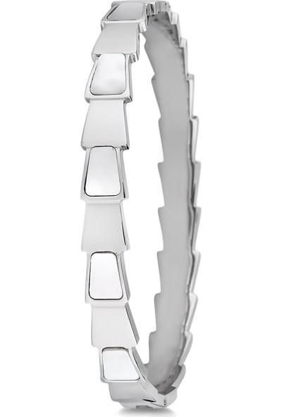 Cocco Silver Renk Çelik Bilezik CC40078-01