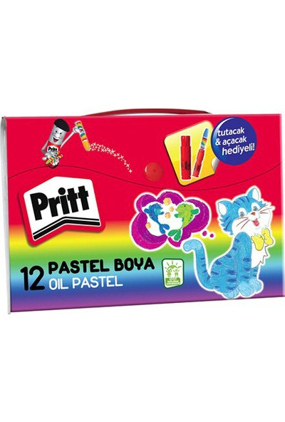 Pritt Pastel Boya Çantalı 12 Li 1048062