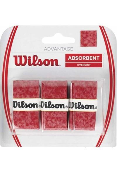 Wilson Advantage Overgrip 3'lü Kırmızı ( WRZ4033RD )