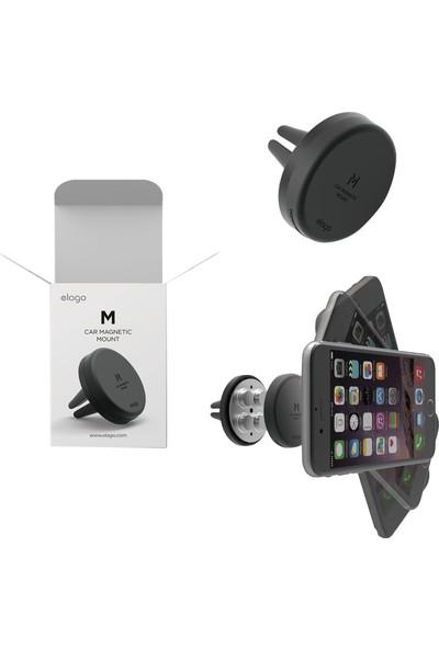 Elago Tüm Cihazlara Universal Uyumlu Manyetik Araç Tutacağı - Black