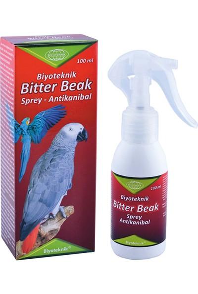 Biyoteknik Bitter Beak Antikanibal Tüy Yolma – Ac Spray 100 ml