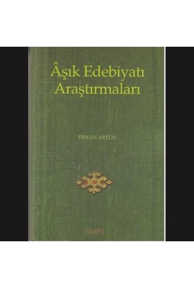 Aşık Edebiyatı Araştırmaları-Erman Artun