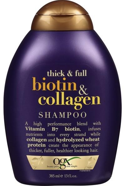 Organix Dolgunlaştırıcı Biotin & Kolajen Şampuan 385 ml