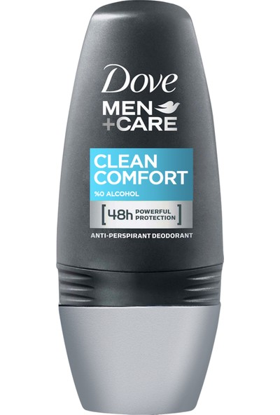 Dove Men Deodorant Roll On Clean Comfort 50 ml