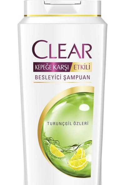 Clear Şampuan Yağlı Saç Derisi İçin Etkin Kontrol 500 ML