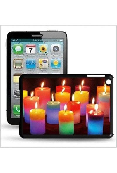 I-Techgear iPad Mini 1/2/3 - 3D Hologramlı Mumlar Arka Kapak (ITG-MN-355)