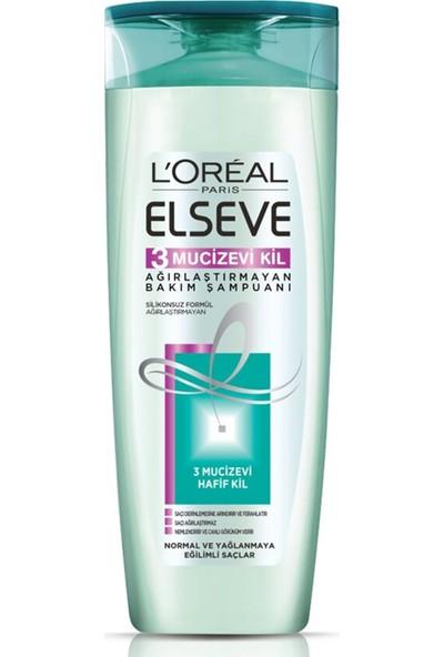 Elseve Mucizevi Kil 3 Şampuan 550 Ml