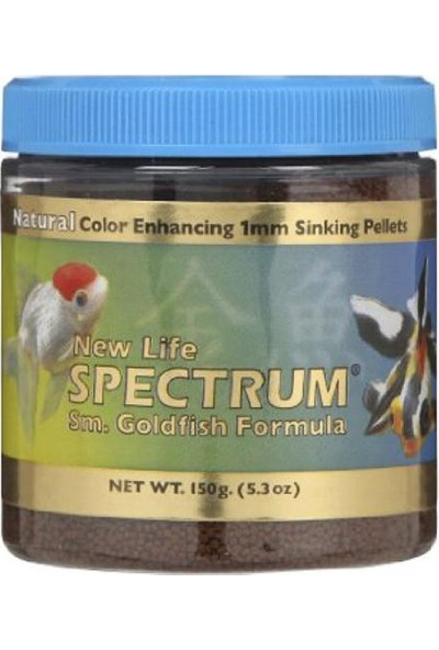 New Life Spectrum Goldfish Formula Small 125 Gr. Japon Balığı Yemi