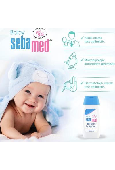 Sebamed Baby pH 5.5 Bebek Losyonu 200 ml