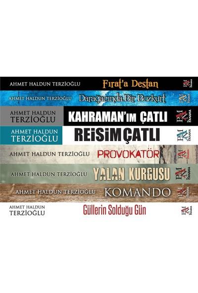 Ahmet Haldun Terzioğlu Siyasi Roman Seti8 Kitap Takım - Ahmet Haldun Terzioğlu
