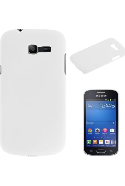 Case 4U Samsung S7390 Galaxy Trend Lite Beyaz Arka Kapak*