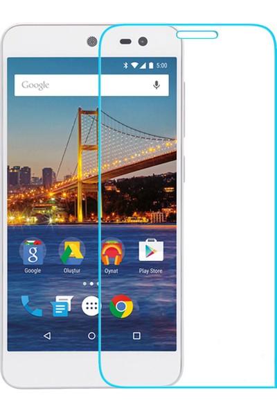 Case 4U General Mobile 4G Android One Cam Ekran Koruyucu