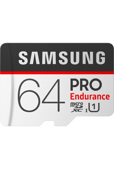 Samsung PRO Endurance 64GB 100 MB/s microSDHC Kart (SD Adaptor) MB-MJ64GA/EU