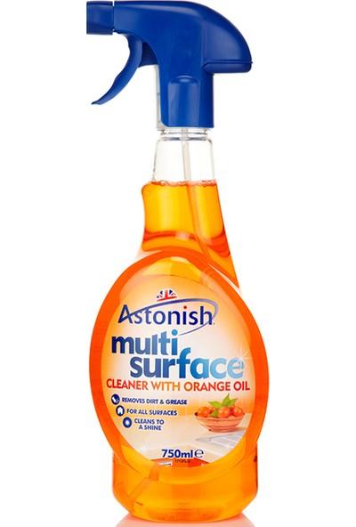 Astonish Vegan Portakal Yağı Özlü Çok Amaçlı Temizleyici Sprey 750 Ml
