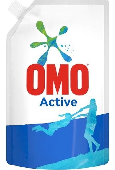 Omo Active Sıvı Deterjan Çevre Dostu Paket 650 ML