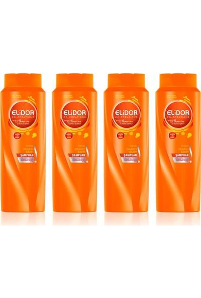 Elidor Anında Onarıcı Şampuan 500ml x 4