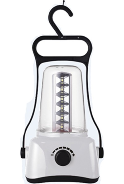 Pelsan 24 Ledli Kamp Feneri - Dimmerli - Beyaz
