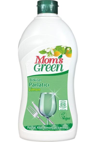 Mom's Green Bitkisel Limonlu Bulaşık Makinesi Parlatıcısı