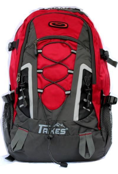 """M&W Taikes Climber SRT-82117 16"""" Kırmızı Notebook Sırt Çantası"""