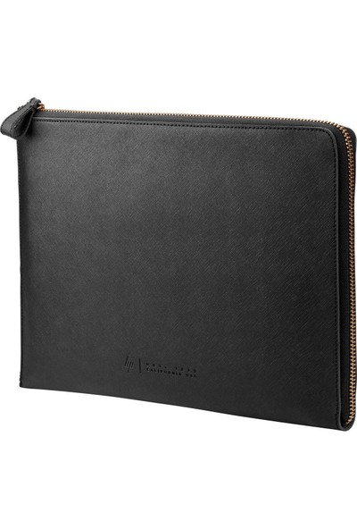 "HP Spectre Leather Sleeve 13.3"" Siyah Kılıf W5T46AA"