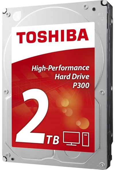 "Toshiba P300 High Performance 3.5"" Sata 3.0 2TB Sabit Disk (HDWD120UZSVA)"