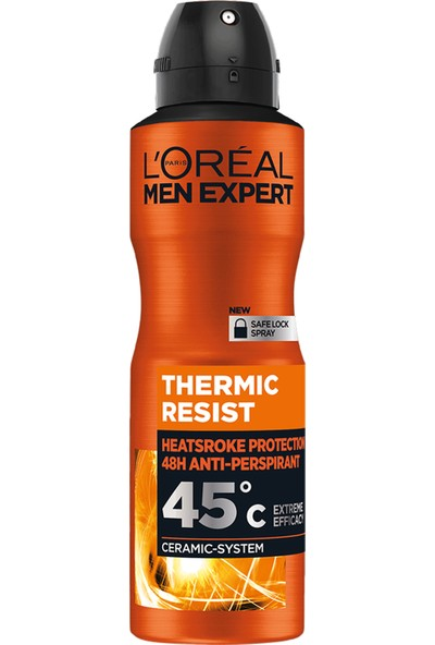 L'Oréal Paris Men Expert Thermıc Resıst Antı Perspırant Deodorant 150 Ml