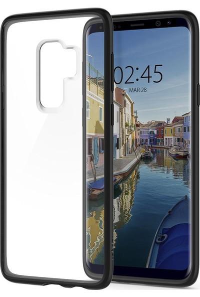 Spigen Samsung Galaxy S9 Plus Kılıf Ultra Hybrid Matte Black - 593CS22924