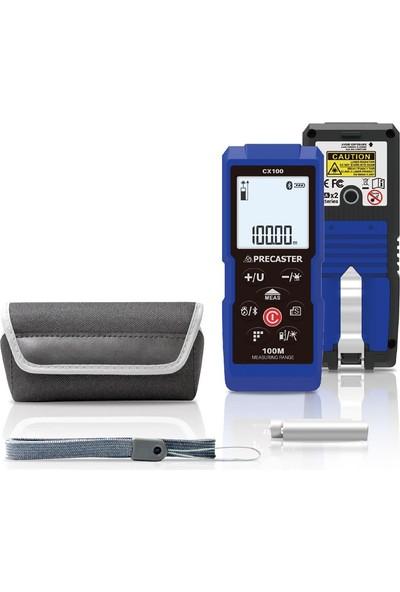 Precaster CX100 Lazermetre + PL2LR Lazer Hizalama + Tripod