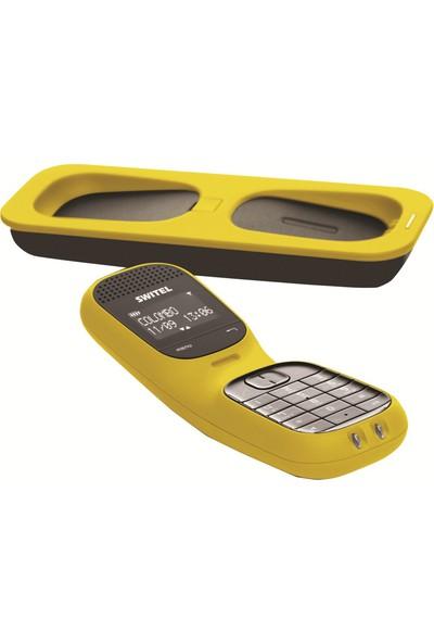 Switel DF 851 Colombo Sarı Dect Telefon