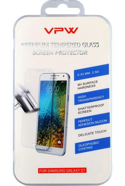 VPW Samsung Galaxy E5 Tempered Glass Ekran Koruyucu