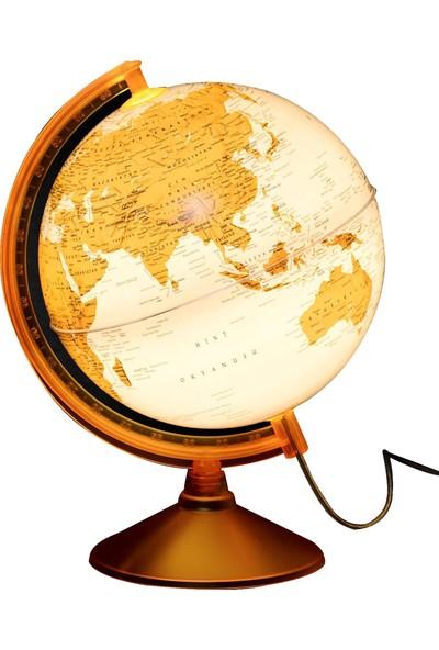 Gürbüz Işıklı Dünya Küresi 26cm (Turuncu) 46252