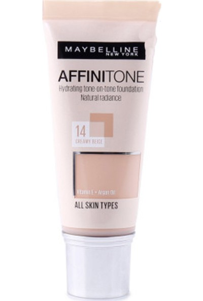Maybelline New York Affinitone Fondöten - 14 Creamy Beige