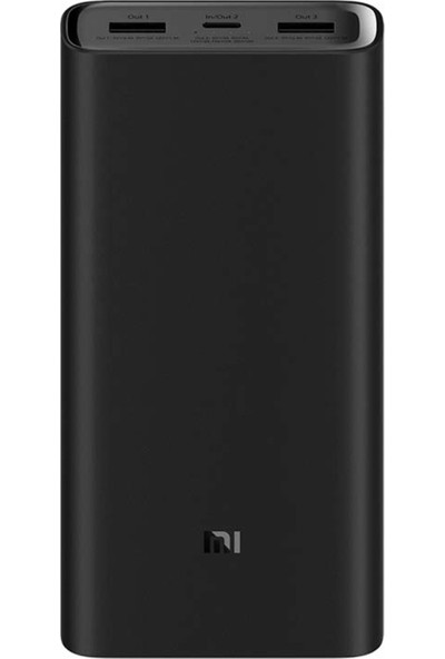 Xiaomi 20000 mAh 3 Pro Type-C Powerbank Taşınabilir Hızlı Şarj Cihazı (45W)